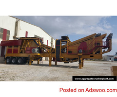 MOBILE CRUSHING AND SCREENING PLANT DRAGON 25 NEW GENERATION