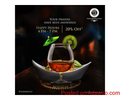 Terrace Restaurant & Café Party Like its weekend - Three Quarter Indian (TQI)