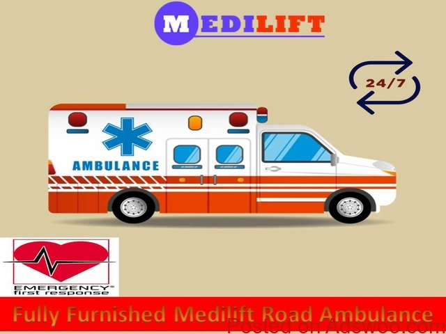 Get Emergency Patient Shifting by Medilift Ambulance Service in Jamshedpur - 1/1
