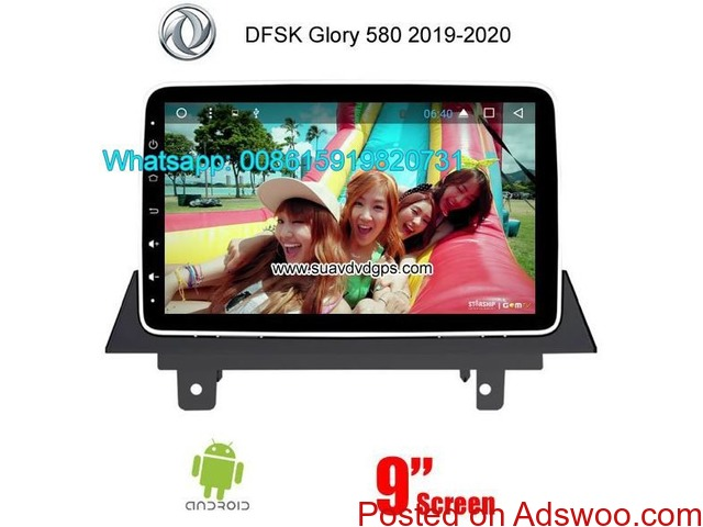 DFSK Glory 580 2019-2020 Car radio android wifi GPS camera - 1/3