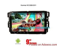 Hummer H2 Car Audio Radio Android GPS Navigation Camera