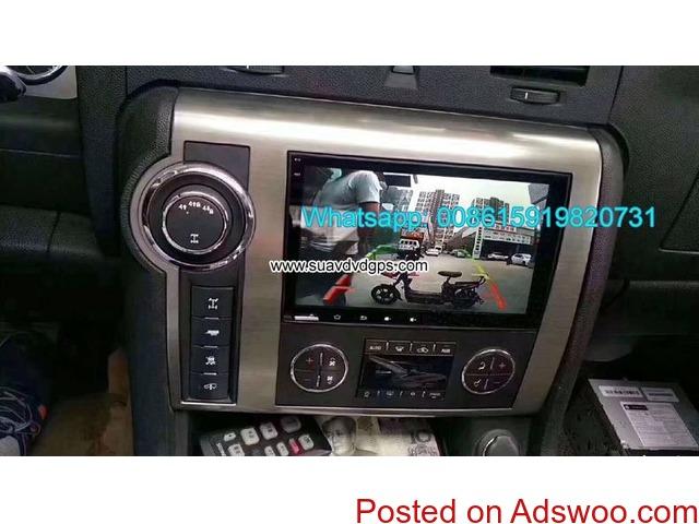 Hummer H2 Car Audio Radio Android GPS Navigation Camera - 4/4