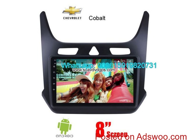 Chevrolet Cobalt Car Parts Radio Android WIFI GPS Camera - 1/4