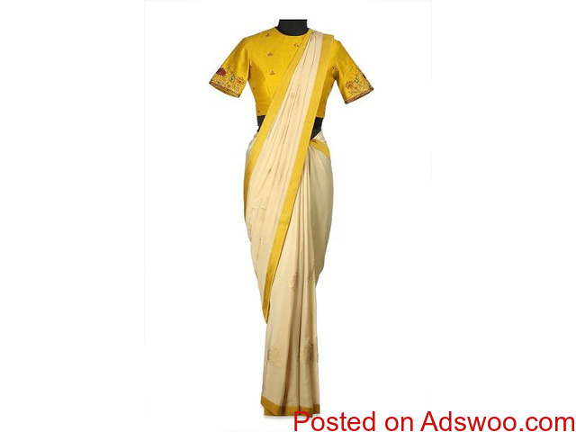 Shop For Sarees From TheHLabel & Get A Mesmerising Look! - 1/4