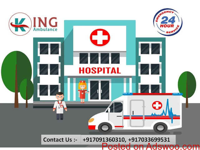 Get Most Esteemed Road Ambulance Service in Saket at a Very Less-Cost - 1/1