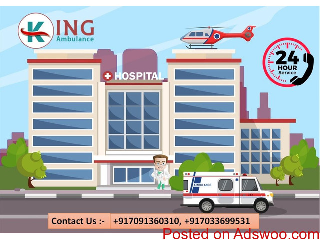 Take Most Valuable Road Ambulance Service in Vasant Vihar at Low-Price - 1/1