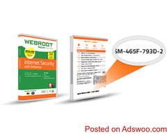 webroot.com/safe -  Download and Install Webroot