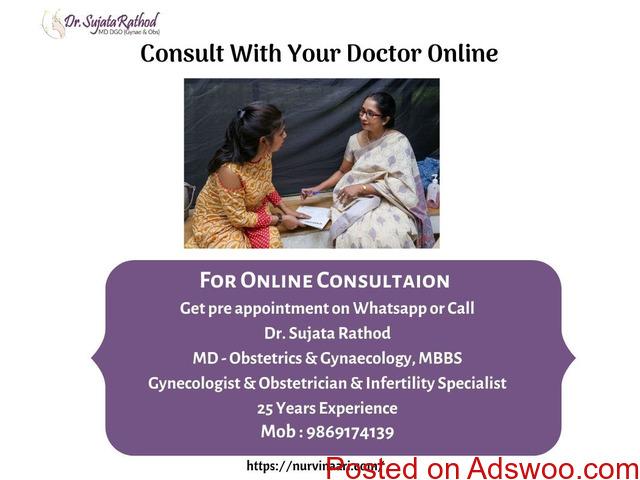 Visit Best Gynaecologist in Thane West - Dr. Sujata Rathod   Nurvinaari - 3/3