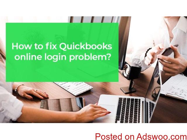 Fix Quickbooks online login problem - 1/1