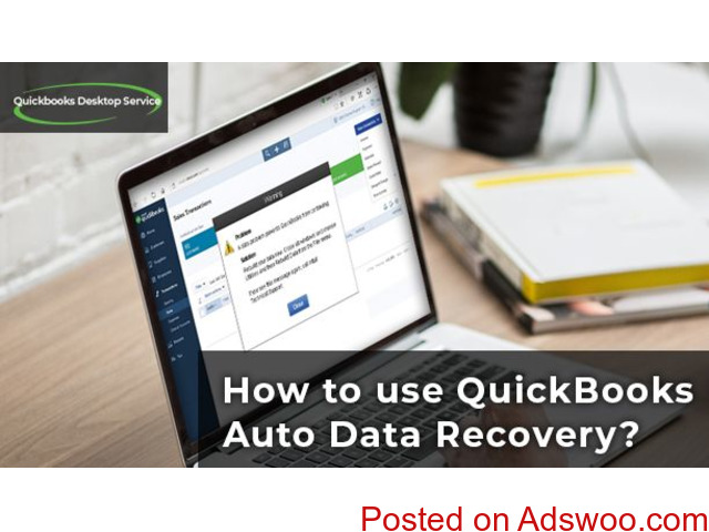 How to use Quickbooks auto data recovery - 1/1