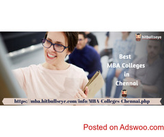 Best Institute for MBA in Chennai