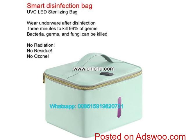 UVC LED Light Sterilizer Box to Sterilize Underwear Smart disinfection bag - 4/4
