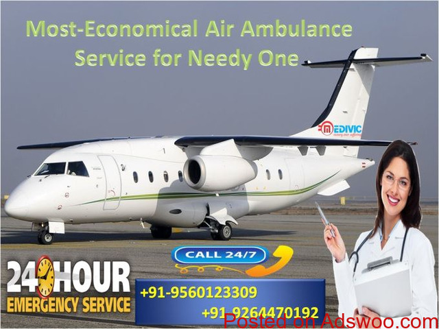 Quick Emergency Transportation by Medivic Air Ambulance in Bangalore - 1/1