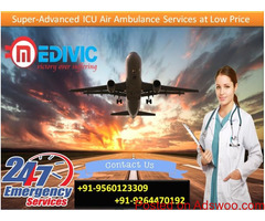 Pick Medivic Air Ambulance in Hyderabad with Hi-tech ICU and CCU Setup